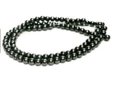 Black Glass Pearls   4mm Glass Pearls   Black Pearl Beads   Beading Supplies   4mm Round Beads   Small Glass Beads   Jewelry Supply by vickysjewelrysupply. Explore more products on http://vickysjewelrysupply.etsy.com