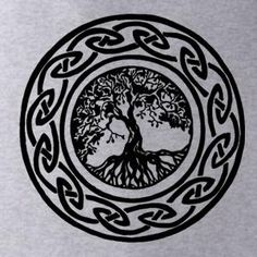 Tree of Life The Tattoo Series Heather Mens Tshirt by BRANDED - StyleSays