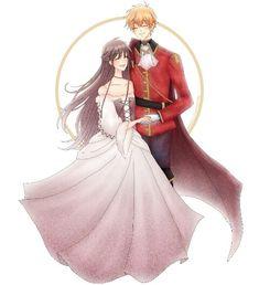 Kyo And Tohru, Yuki Sohma, Attack On Titan Aesthetic, Anime Girl Dress, Fruits Basket Anime, Couple Illustration, Naruhina, Cute Pins, Shoujo