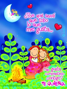 Tarjetas para enamorar, de amor, san valentin, valentine's day ...