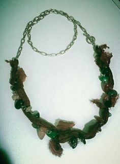Green& brown perfect match.. agete natural stones..three different use necklace. ..