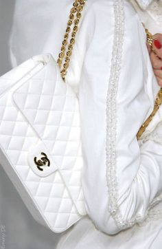 Emmy DE * Chanel #bag #white