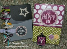 Inspire.Create.Share. 2014 - roommate gift Roommate Gifts, My Stamp, Happy Day, Stamping, 3 D, Boxes, Paper Crafts, Inspire, Scrapbook