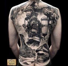 16 Amazing Tattoos That Are Living Works Of Art - Ftw Gallery