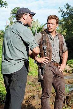 Chris Pratt - Jurassic World Jurassic World Cast, Jurassic World Chris Pratt, Jurassic World 2015, New Movies, Good Movies, Jurrassic Park, Jurassic Park Party, Fb Quote, Parks N Rec