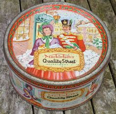 Quality Street Christmas Tin by Cold War Warrior, via Flickr
