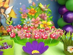 Tinkerbell & Fairies Birthday Party Ideas | Photo 15 of 24 | Catch My Party