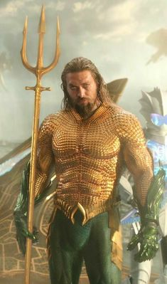 Arthur Curry aka Aquaman aka King of Atlantis Aquaman Dc Comics, Anime Comics, Marvel Comics, Super Hero Outfits, Super Hero Costumes, Aquaman Costume, Jason Momoa Aquaman, Doctor Who Fan Art, Greek And Roman Mythology