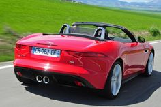 Rear of the Jaguar F-Type S - pretty/good [Photo: Pete Gibson]