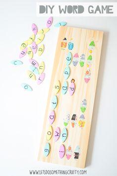 Word Games For Kids - DIY Board Game