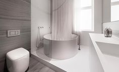   BATHROOMS   LOVE THE WORK of talented creatives tamizo architects group. Image Credit: tamizo architects group Seriously covet their innovative ways of looking at volumes of space, their attention to detail is by far, some of the best out there ... I want to pin every single image on their website, so many beautiful interiors. Love the way they colour block a space with material finishes and their clever use of mirror / glass flush detailing #bathrooms #tamizoarchitectsgroup