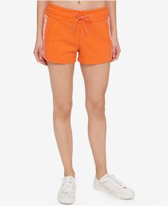 Shop Now - >  https://api.shopstyle.com/action/apiVisitRetailer?id=641917638&pid=uid6996-25233114-59 Tommy Hilfiger Cotton Athletic Shorts, Only at Macy's  ...