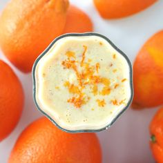cocktail with orange - koktajl z pomarańczą