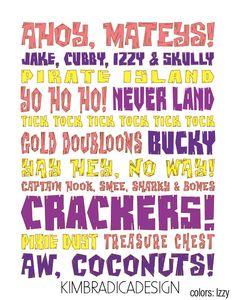 Jake  The Neverland Pirates words