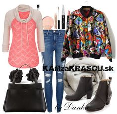 Street Style - KAMzaKRÁSOU.sk #kamzakrasou #sexi #love #jeans #clothes #coat #shoes #fashion #style #outfit #heels #bags #treasure #blouses #dress