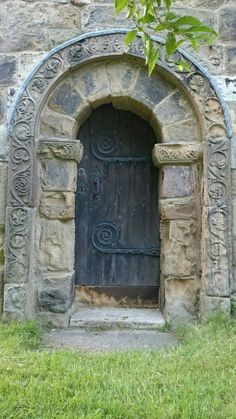 Small Norman doorway in Ledsham church - mariecaro fiore - #church #Doorway #Fiore #Ledsham #mariecaro #Norman #Small