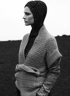 "blankforblack: "" model Susan Pabisova """