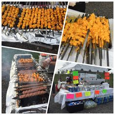 Bull run festival.... looks soo yummy mouth watering  wish I was there  love Johnnys kabob!!