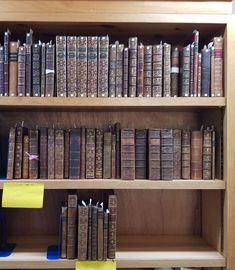 Cataloguing work on the Crewe Collection. Trinity Library, College Library, Cambridge, Collection