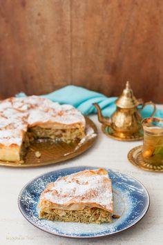 Si algo me fascina de la comida árabe son las preparaciones con masa brick o filo. Tanto en dulce como en salado, no hay nada más delicio...