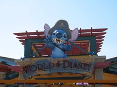 World of Disney Sign.