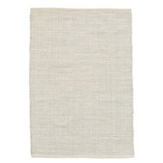 Features:  -Marled collection.  Rug Shape: -Rectangle.  Primary Color: -Blue/White.  Material: -Cotton.  Product Type: -Area Rug.  Product Care: -Do not machine wash; Do not bleach; Do not tumble dry.