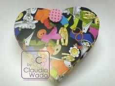 Cursos by Claudia Wada: Coração de costura  não tem molde