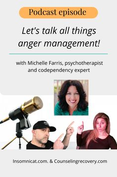 This was a fun interview with Brian and Nicolette's show The Insomnicat. We chatted about people-pleasing, relationships and anger. How do we deal with our emotions in relaitonships? Find out more in this episode. #anger #relationships #mental-health #podcast #emotions Relationship Problems, Relationship Tips, Relationships, Anger Management Quotes, Stress Management, How To Control Anger, Improve Communication, Codependency, Conflict Resolution