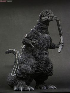 X-Plus 1954 Godzilla Train Biter Standard Version Vinyl Figure Godzilla Toys, Cool Monsters, Japanese Film, Creature Feature, Scary Movies, Vinyl Figures, Lion Sculpture, Creatures, Hero