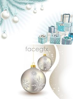 Christmas lighting ceremony package Vector