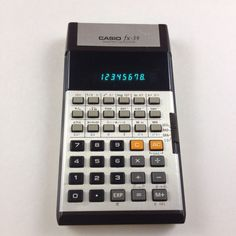 Very Casio Scientific Calculator Boxed Soft Case Vintage for sale online Old Technology, Casio, Calculator, 1970s, Display, Electronics, Retro, Childhood Memories, Circuit
