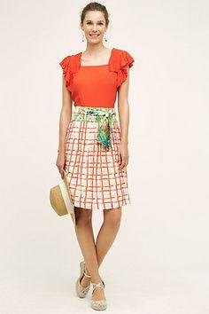 County Fair Skirt #anthropologie