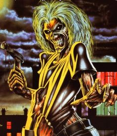 Iron Maiden — Mess with the guy wearing the Eddie t-shirt...I'll pass.