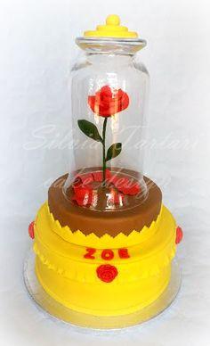 Torta Bella e la Bestia - Beauty and the Beast cake