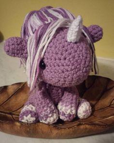 #Crochet #horse #unicorn #handmade #etsy #vegan #crueltyfree #yarn #amigurumi #work