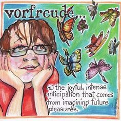 "Classroom Assignment - Illustrate an unsual word inspired by the book ""Lost in Translation"" flying shoes art studio"