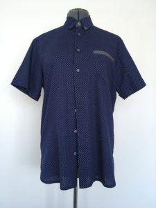Theo overhemd korte mouwen versie van Zonen09 patroon