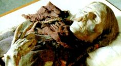 A Tocharian female mummy with long flaxen blond hair, perfectly preserved in ponytails.  Items of weaved material, identical to Celtic cloth, definitively proved the Indo-European origins of the Tocharians, who not only built the fantastic Silk Road cities which today lie deserted, but who are also credited with bringing Buddhism, horses, the saddle, and iron working to China. This mummy was approximately 40-years old, was found in the main chamber of the same tomb. Her tall stature, high…