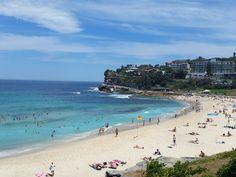 Bronte Beach, Bondi Beach, Bondi to Coogee walk, Sydney, New South Wales, Australië