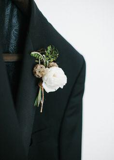 Prendido del novio. Boda organizada por Detallerie. Boutonniere. Wedding by Detallerie.