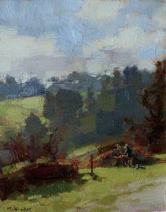 Jim McVicker, Terry Painting, 16x12