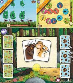Grüffelo Spiele App für Kinder