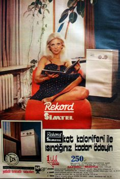 OĞUZ TOPOĞLU : simtel rekord 1975 nostaljik eski reklamlar