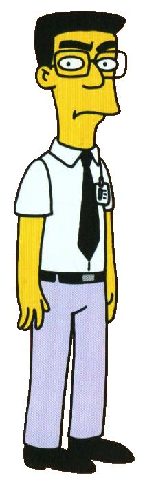 """Frank Grimes (""""Homer's Enemy"""" - """"The Simpsons"""")"""