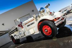 """Rolls Royce of Fire Trucks""""Built for the town of Belleville, NJ and shipped to them on is the last HT built before the warThe Motor fi Rescue Vehicles, Fire Apparatus, Emergency Vehicles, Fire Dept, Fire Engine, Custom Trucks, Fire Trucks, Rolls Royce, Antique Cars"""