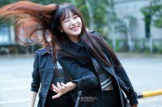 WJSN - SeolA #설아 (Kim Hyunjung #김현정) #hairflip 160923
