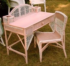 Outstanding 138 Best Vintage Wire And Wicker Images Wicker Wicker Gmtry Best Dining Table And Chair Ideas Images Gmtryco