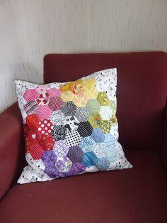 EPP Rainbow Pillow by Vivie95, via Flickr