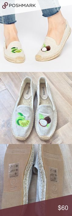 18da404b957b Coconut   Lime soludos espadrilles So cute! Size 6. Tts. Soludos Shoes  Espadrilles