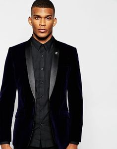 French Connection | French Connection Slim Fit Tuxedo Suit Jacket at ASOS